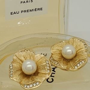 Vintage Dior Signed Rare Earrings